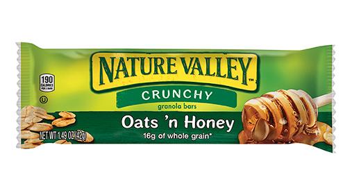 nature valley oats, honey