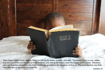 children read bible
